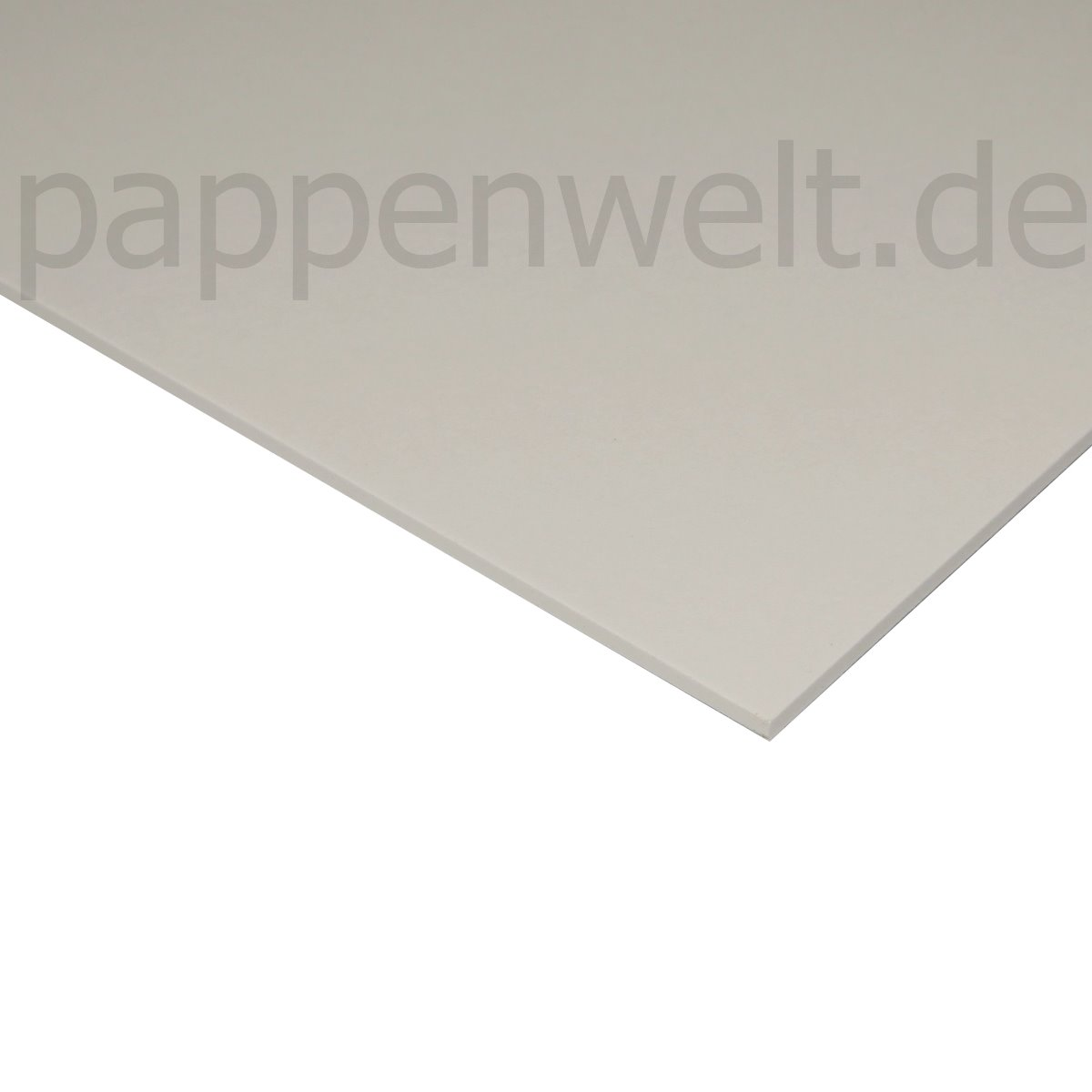 weisse Pappe